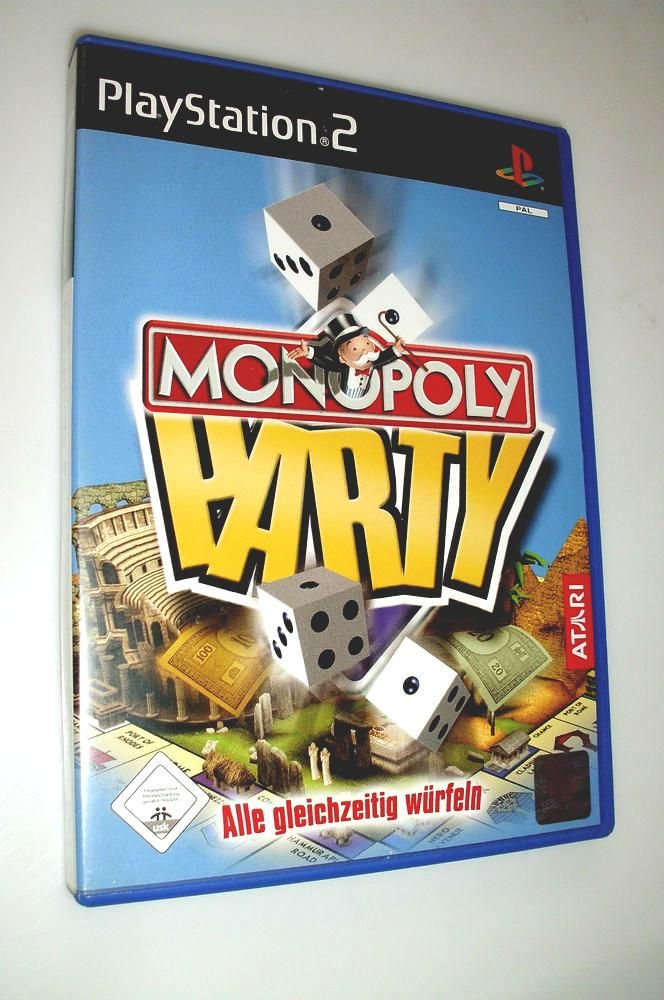 Atari Monopoly Party Playstation 2 Ps2 Spiel Bis Zu 4 Spieler From 3 25 Monopoly Party