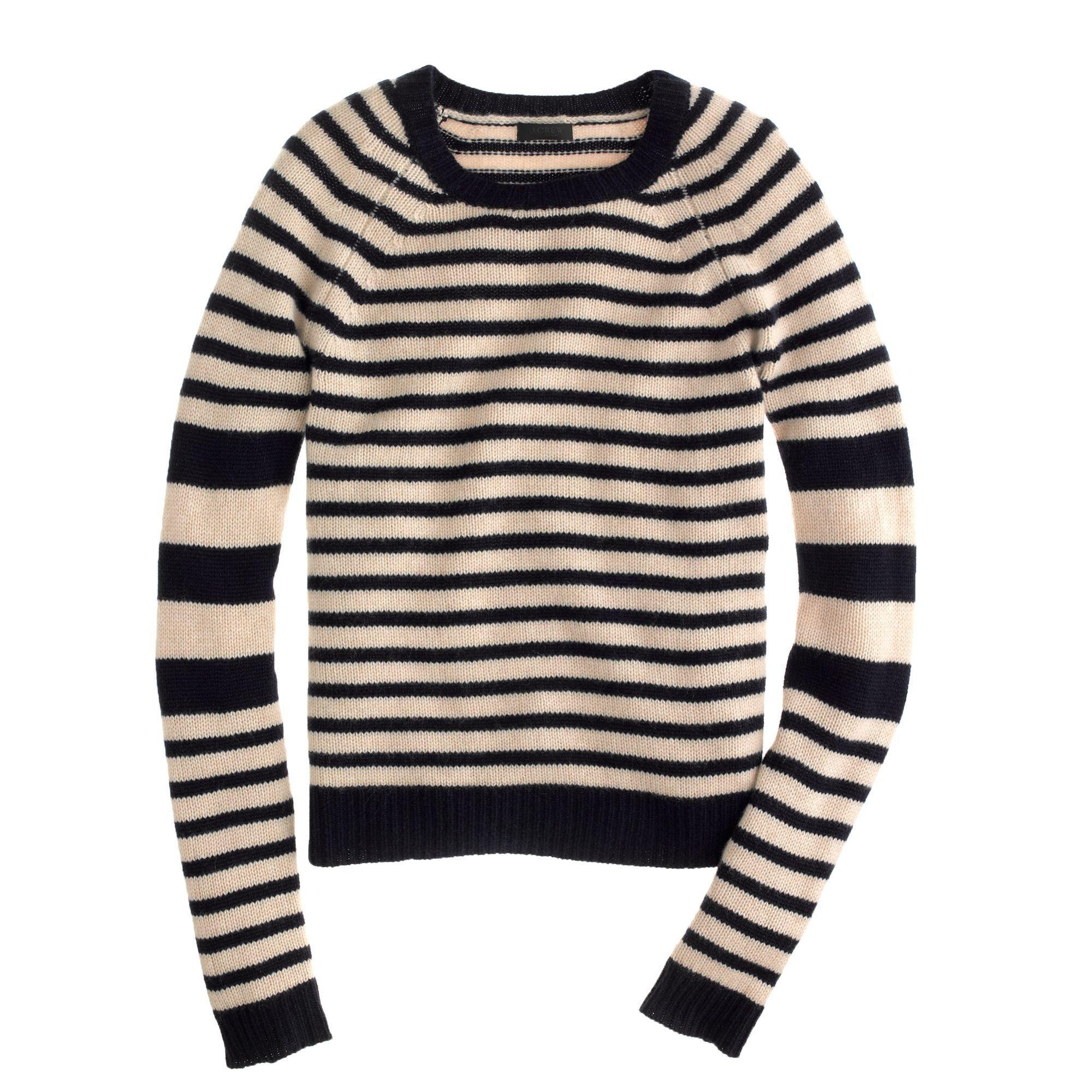 Cute sweater and you know I love a nice black stripe! | Dress Me ...