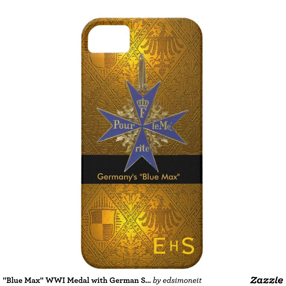 Blue max wwi medal with german symbols iphone se55s case blue max wwi medal with german symbols iphone 5 cases buycottarizona