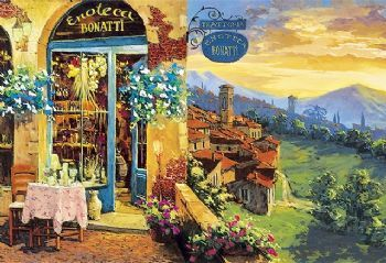 L'enoteca - 2000 Piece Jigsaw  Free Delivery From The Yorkshire Jigsaw Store on orders over £10