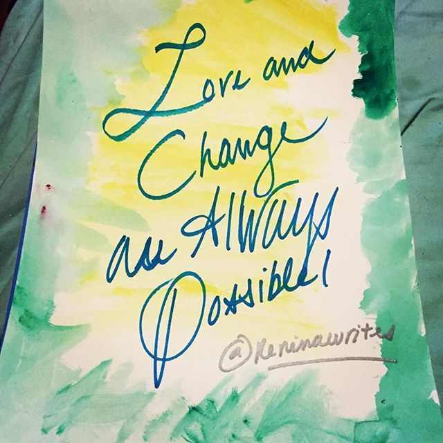 Love and change are always possible