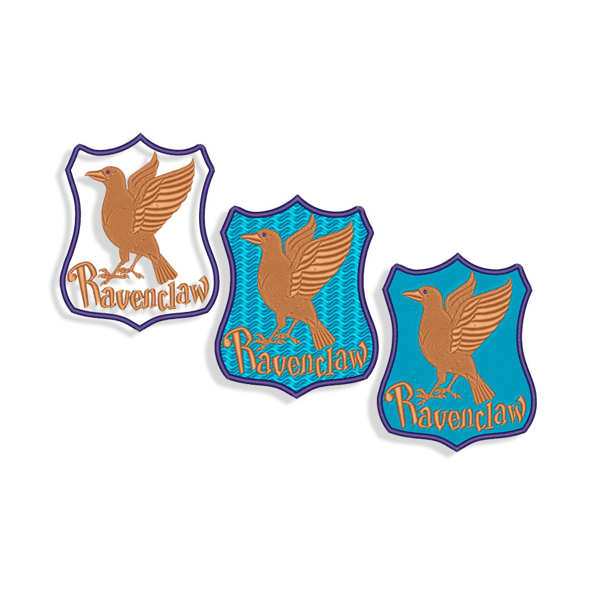Ravenclaw new logo Embroidery design