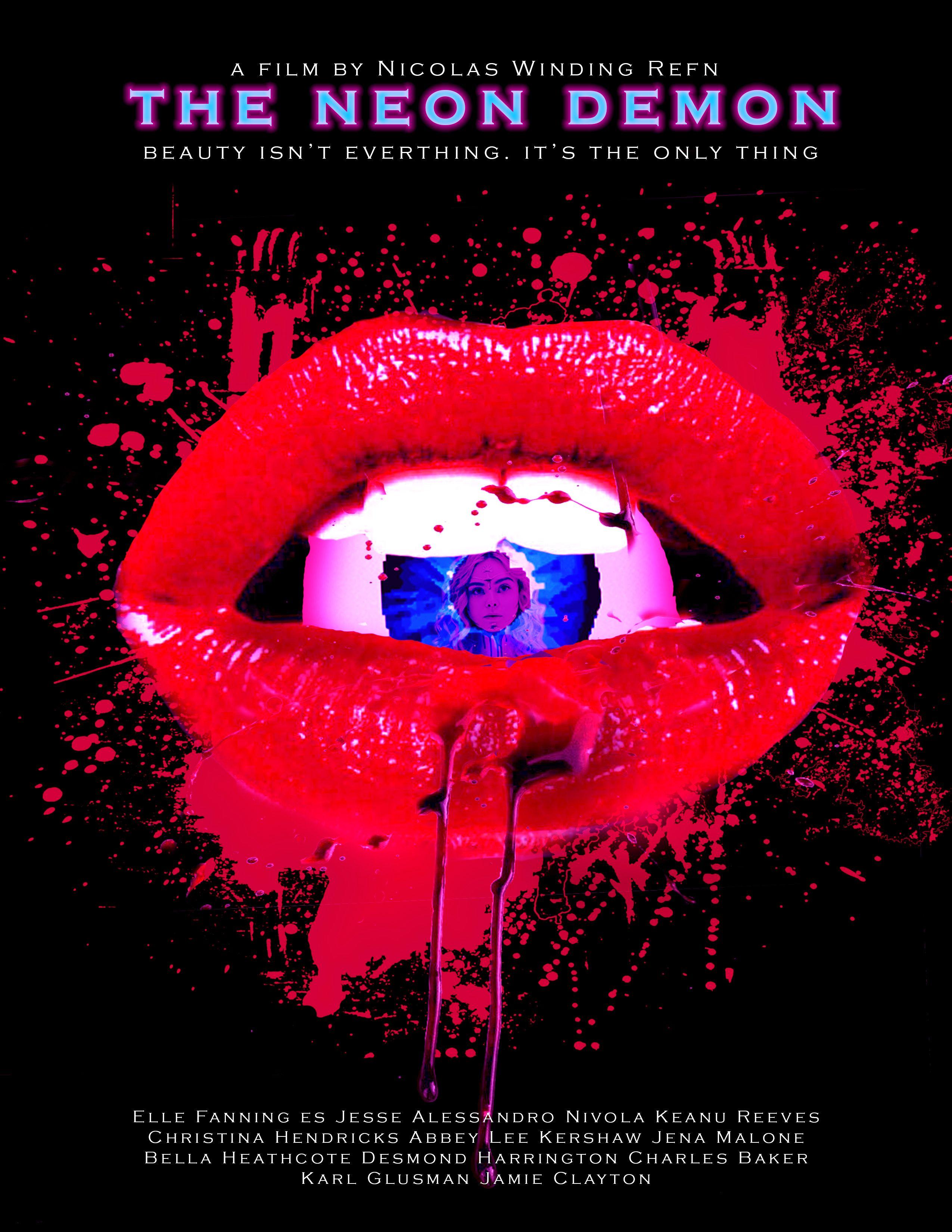 The Neon Demon Poster De Peliculas