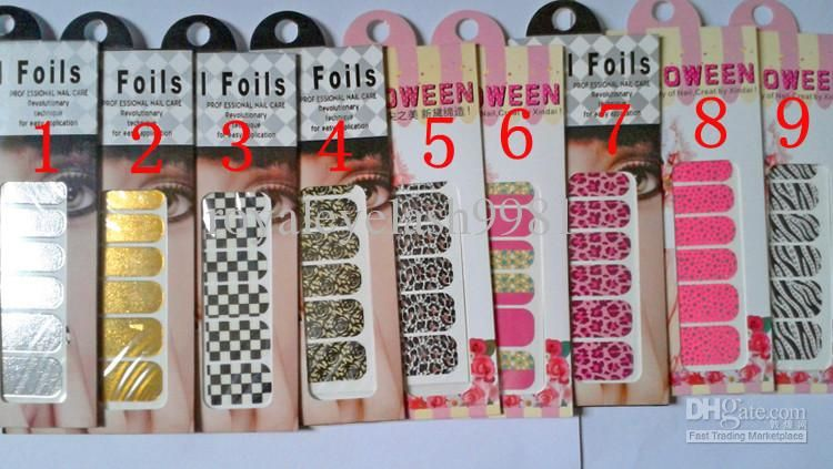 Wholesale Nail Sticker Nail patch Nail Decals Water Decals Snow Nail ...