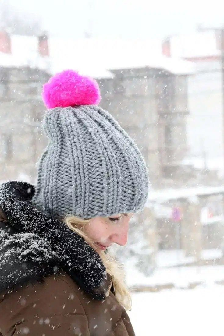 handylittleme.com • Slouchy Beanie Knitting Free Pattern ...