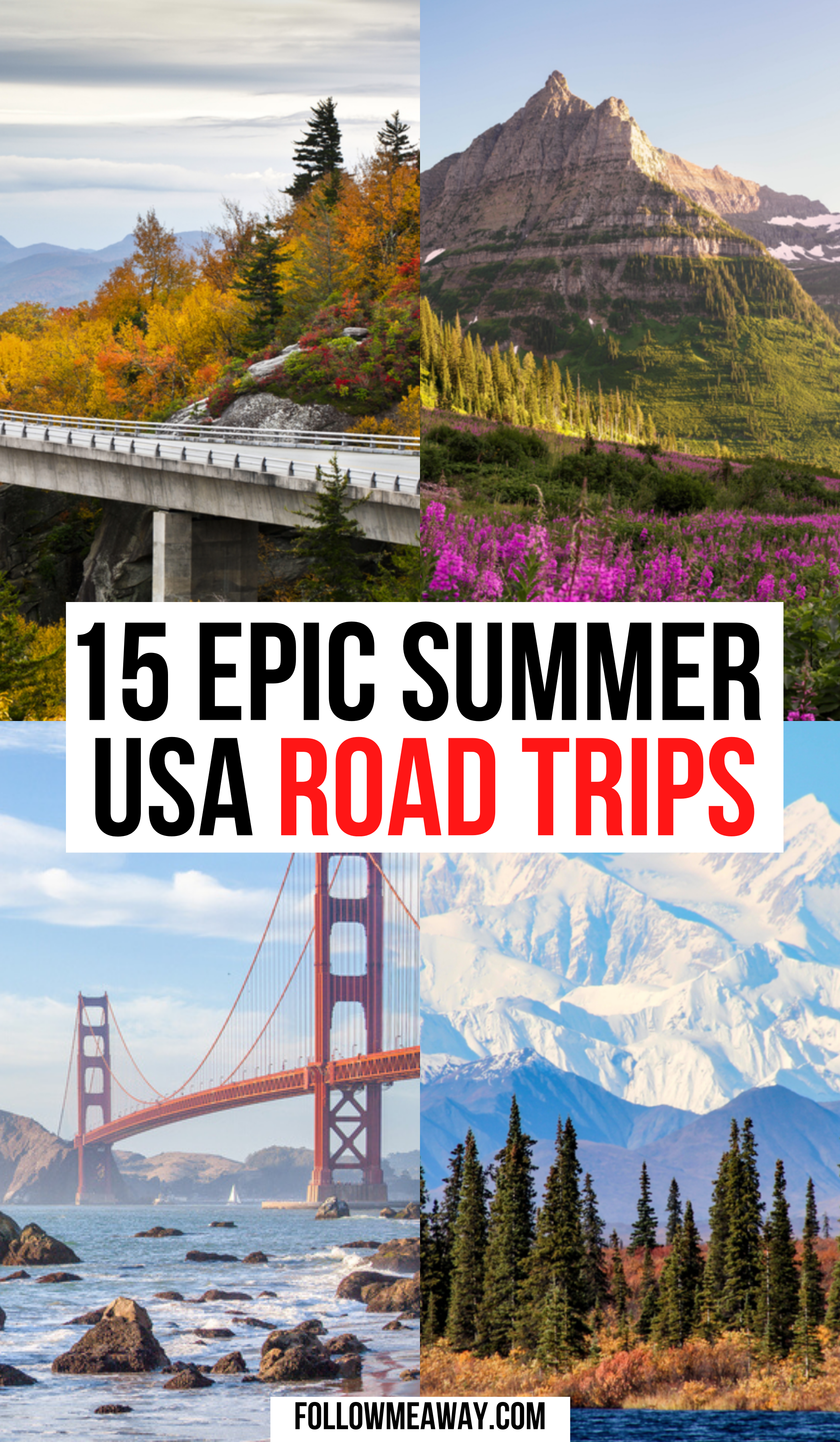15 Best Road Trips In The Usa For Your Bucket List Road Trip Fun Road Trip Usa Road Trip Destinations