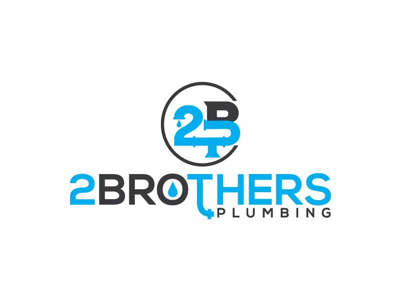 2 Brothers Plumbing Or Two Brothers Plumbing Logo Design By Skhan27061987
