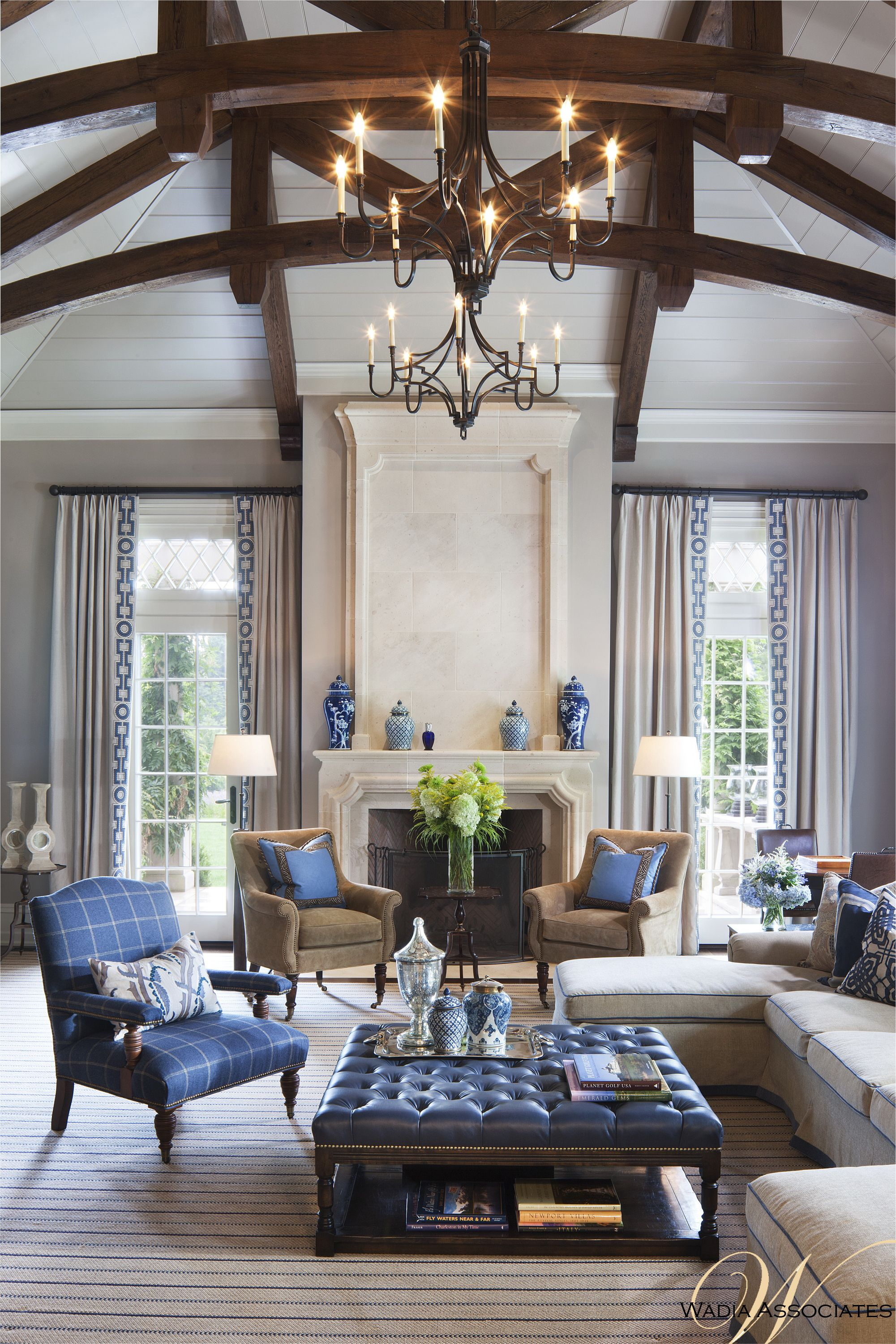 In this delicate sitting room we utilize