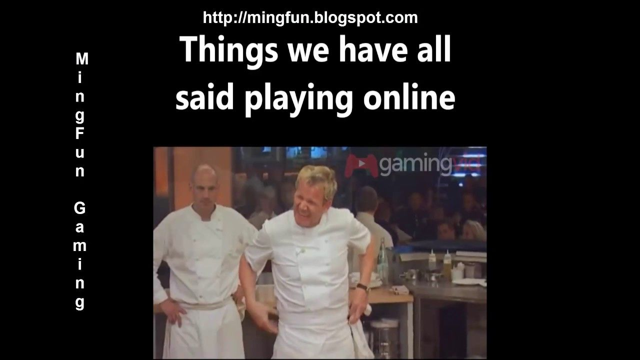 Video Games Rage with Gordon Ramsay Epic