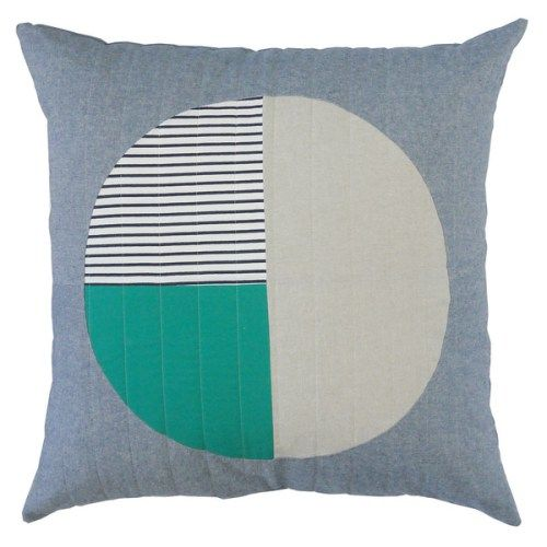 Hopewell Workshop New Release Bright Pillows Pillows Spring Tide
