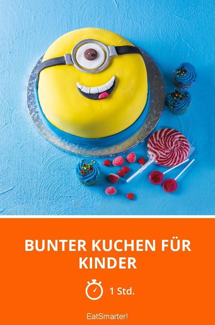 Bunter Kuchen Für Kinder