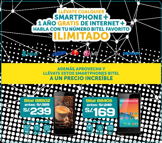 Bitel -New Detail Service- Telefonía móvil, Internet móvil