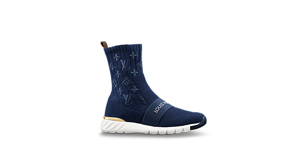 91467f3b75f Louis Vuitton Aftergame Sneaker Boot The perfect urban sneaker boot ...