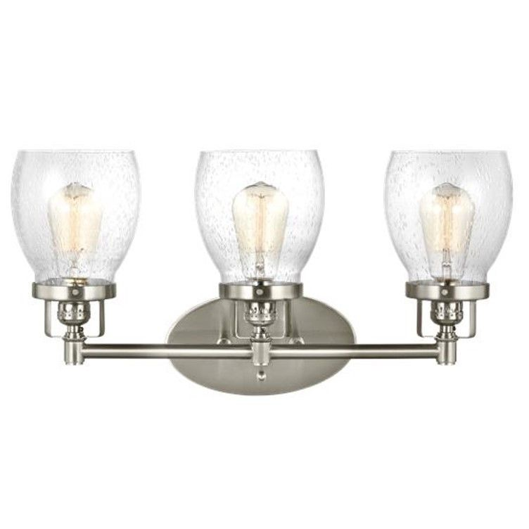 Belton Vanity  Gull Vanities And Glass Awesome Industrial Bathroom Light Fixtures Decorating Design