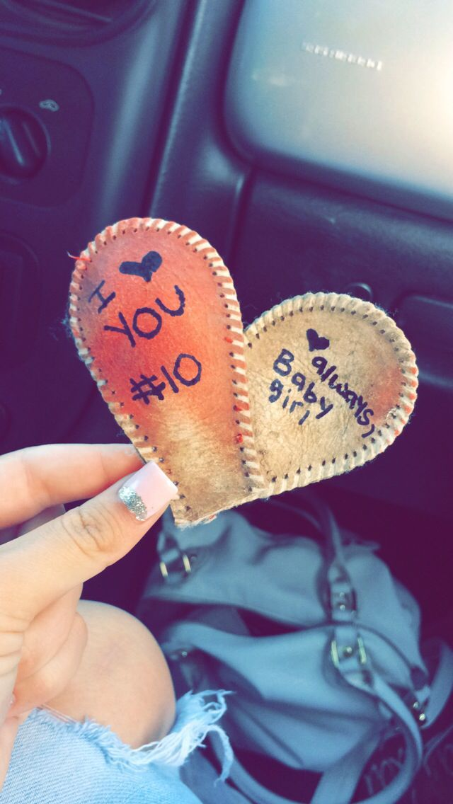 baseball boyfriend creative love diy can make from my son stitch to his arhletic backpack such a cute gift - Creative Valentines Day Ideas For Girlfriend
