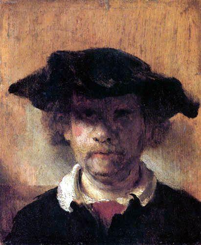 Carel Fabritius (1622–1654): Portrait of Rembrandt, 1649. - Google Search