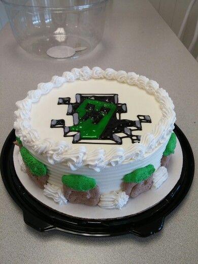 DQ Minecraft Cake
