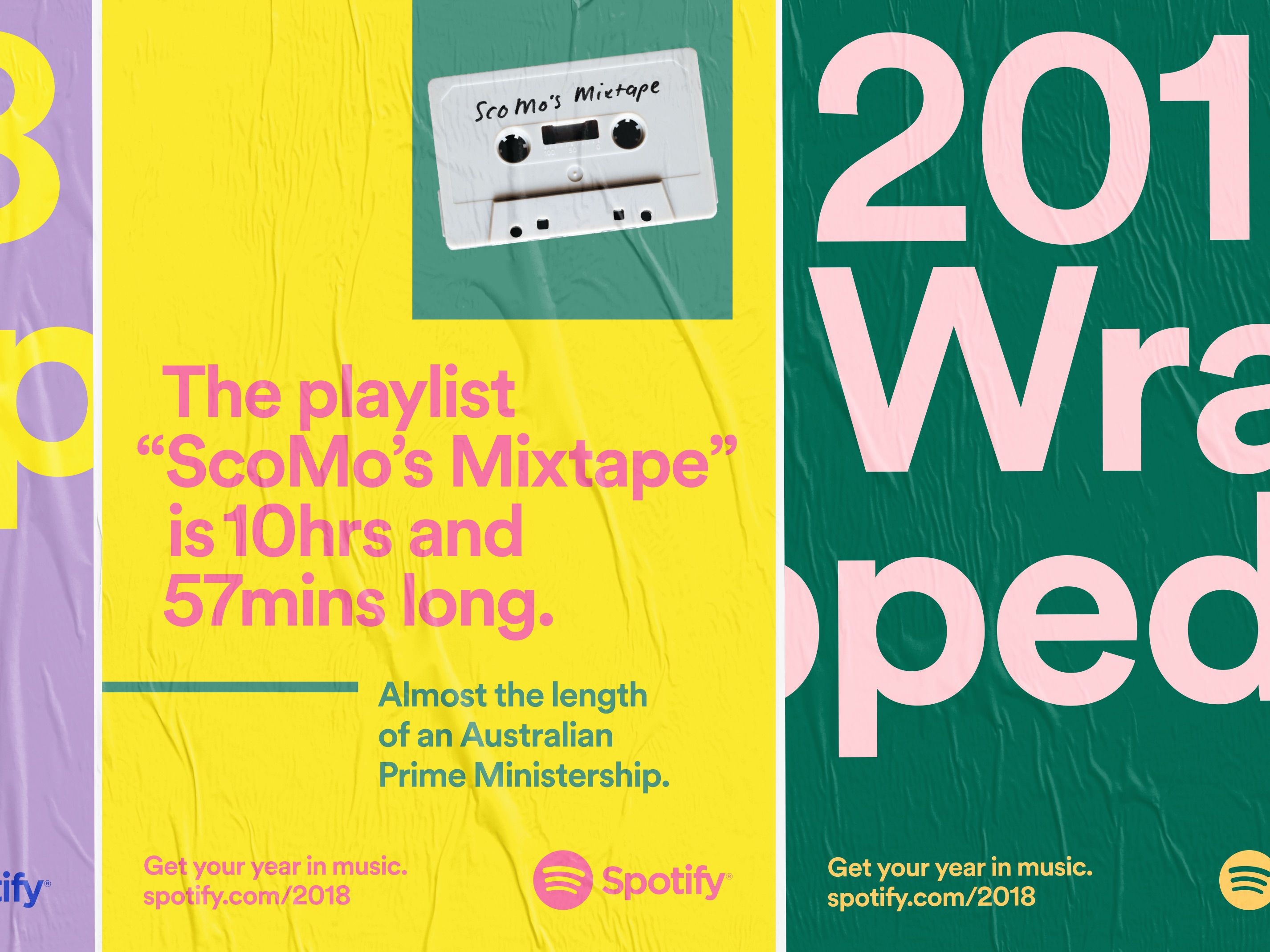 Spotify 2018 Wrapped in 2020 Spotify design, Branding