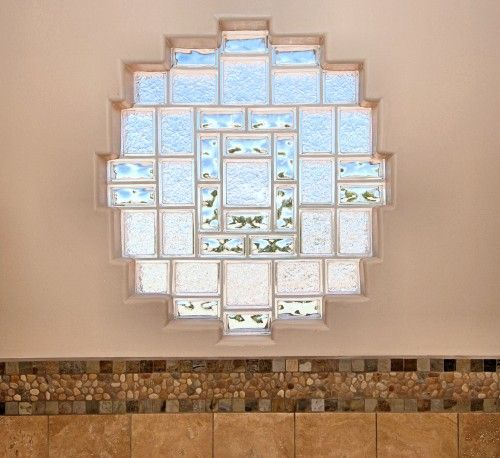 Bathroom Glass Block Shower Design, Pictures, Remodel, Decor And Ideas    Page 13