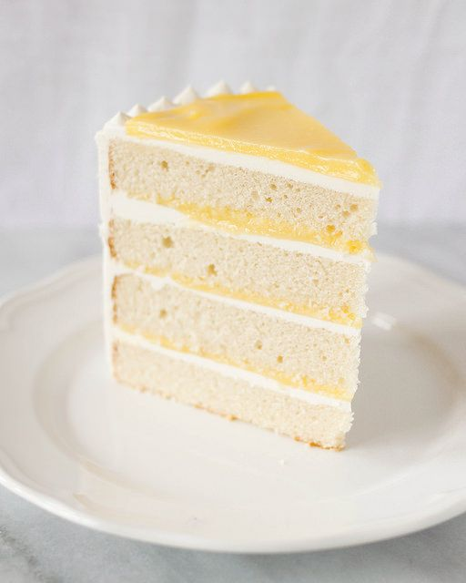 Lemon Curd Cake via Treats