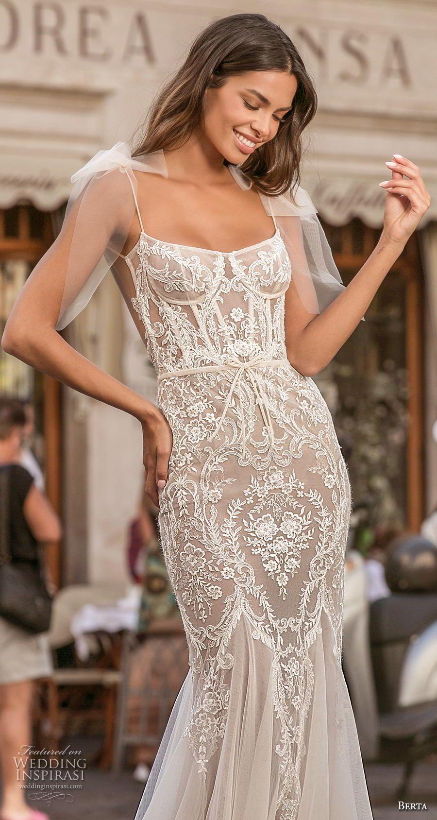 Berta Privee 2020 Wedding Dresses Amalfi Bridal Collection No 3 Wedding Inspirasi Wedding Dresses Modern Wedding Dress Berta Wedding Dress [ 1688 x 900 Pixel ]