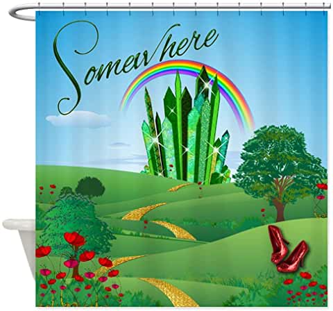 Amazon Com Wizard Of Oz Shower Curtain Fabric In 2020 Fabric