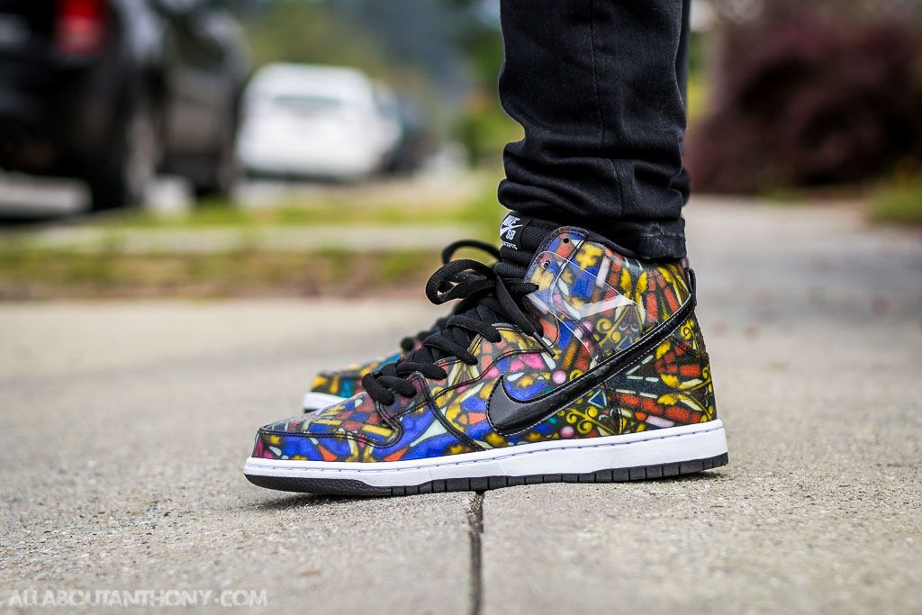 Glass Holy Sb Grail Dunk Stained Concepts Pack High X Nike wOzB77qR1