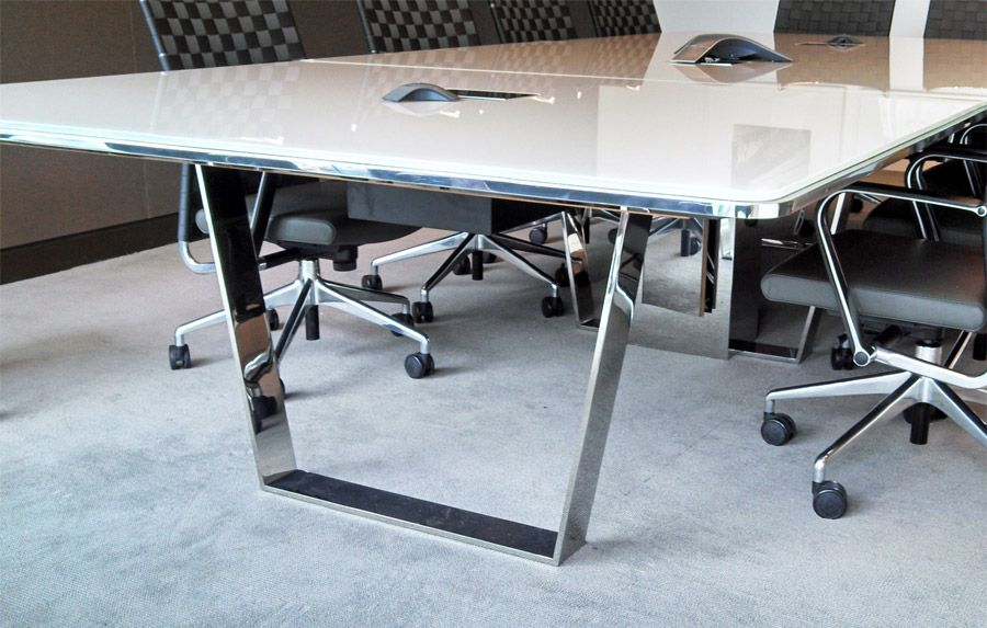 Custom Conference Table Decca Contract Custom Conference - Custom glass conference table