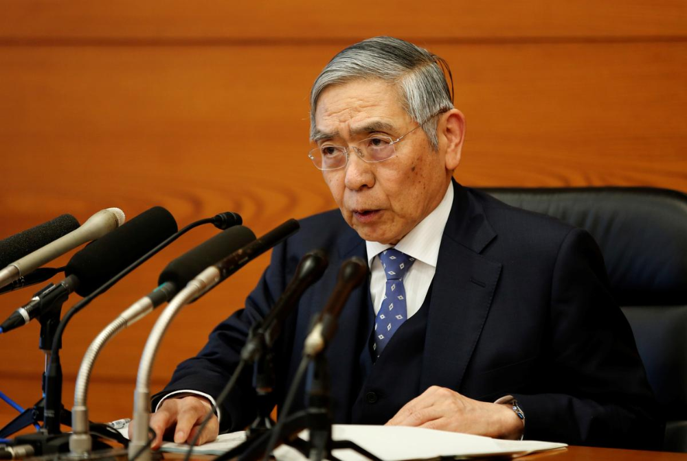 BOJ Governor Kuroda's comments at news conference in 2020