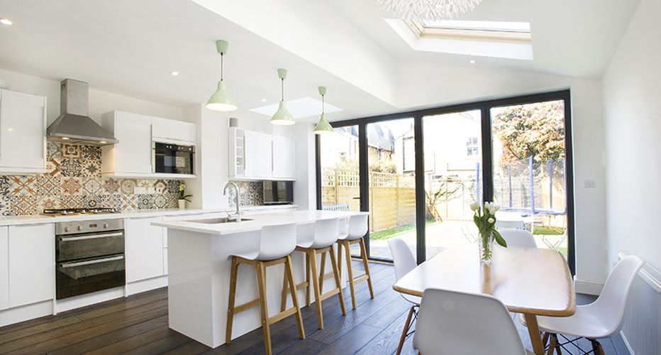 Nice Galley Kitchen And Island Idea Lovely Light White Walls Good