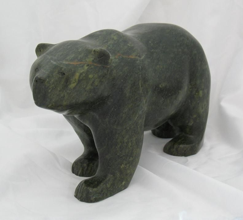 Bear soapstone carving google search sculptures bears