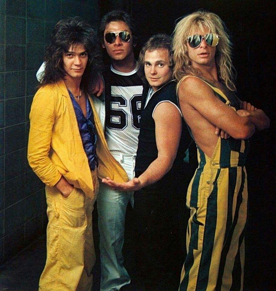 Alex Van Halen Michael Anthony Eddie Van Halen David Lee Roth Van Halen Michael Anthony Van Halen Van Halen Concert