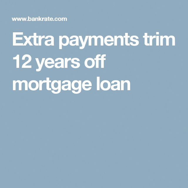 mortgage amortization calculator extra payment