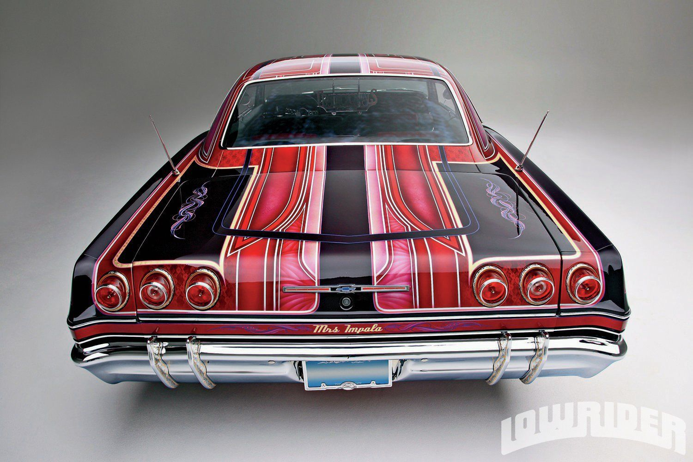 Classic Chevrolet Impala Airbrush Print