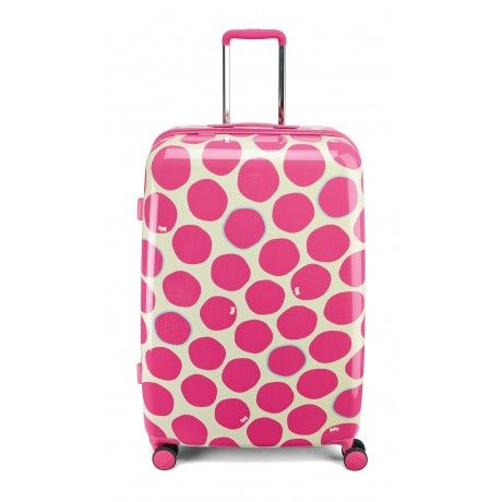 Spot On, Large Wheel Trolley Suitcase