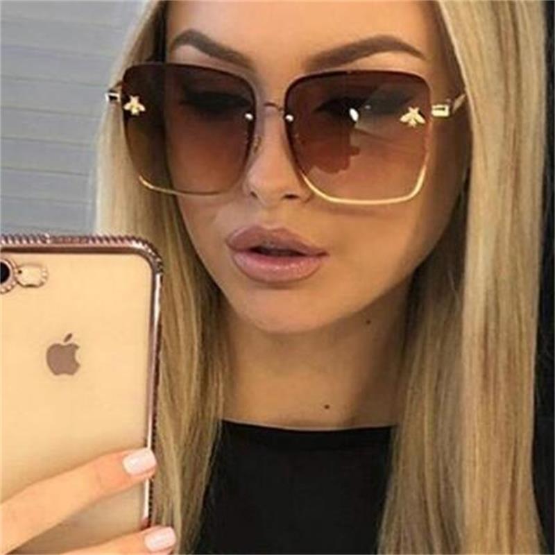 Square Celebrity Unisex Sunglasses - #Celebrity #Square #Sunglasses #unisex