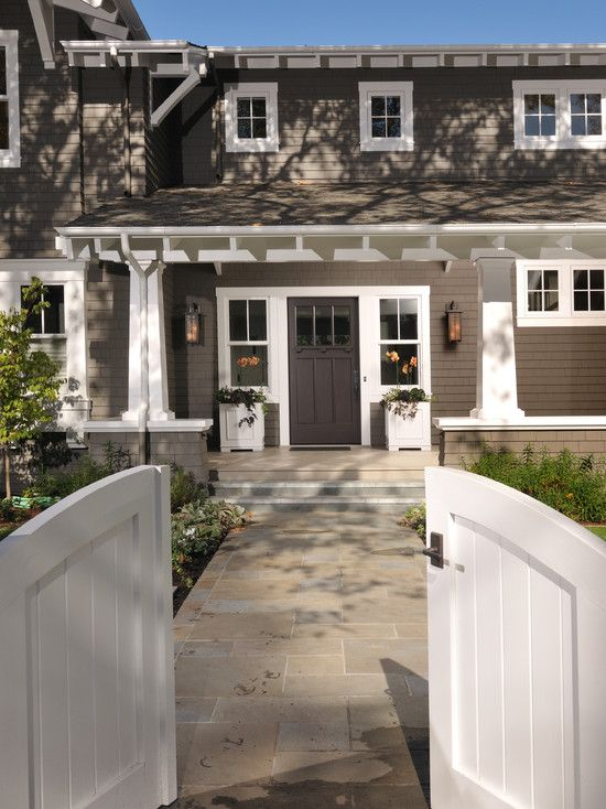 Craftsman Front Door Colors Design, Pictures, Remodel, Decor and Ideas - page 7