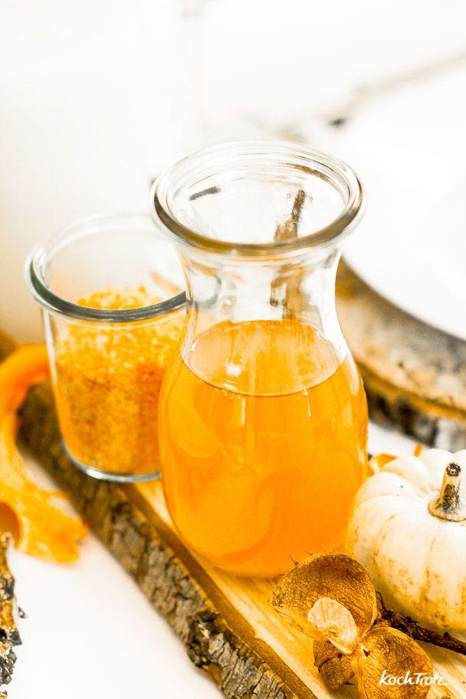 Kürbisöl selber machen Geschenke aus der Küche lecker und - geschenke für die küche