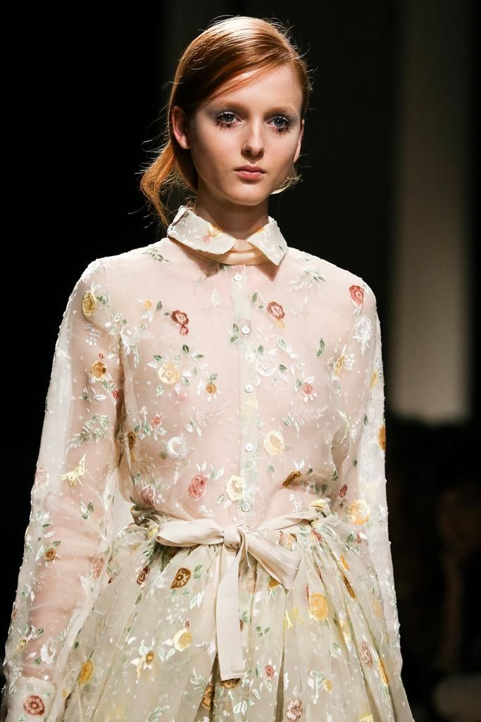 Rochas Spring 2015 Ready-to-Wear - Collection - Gallery - Look 1 - Style.com