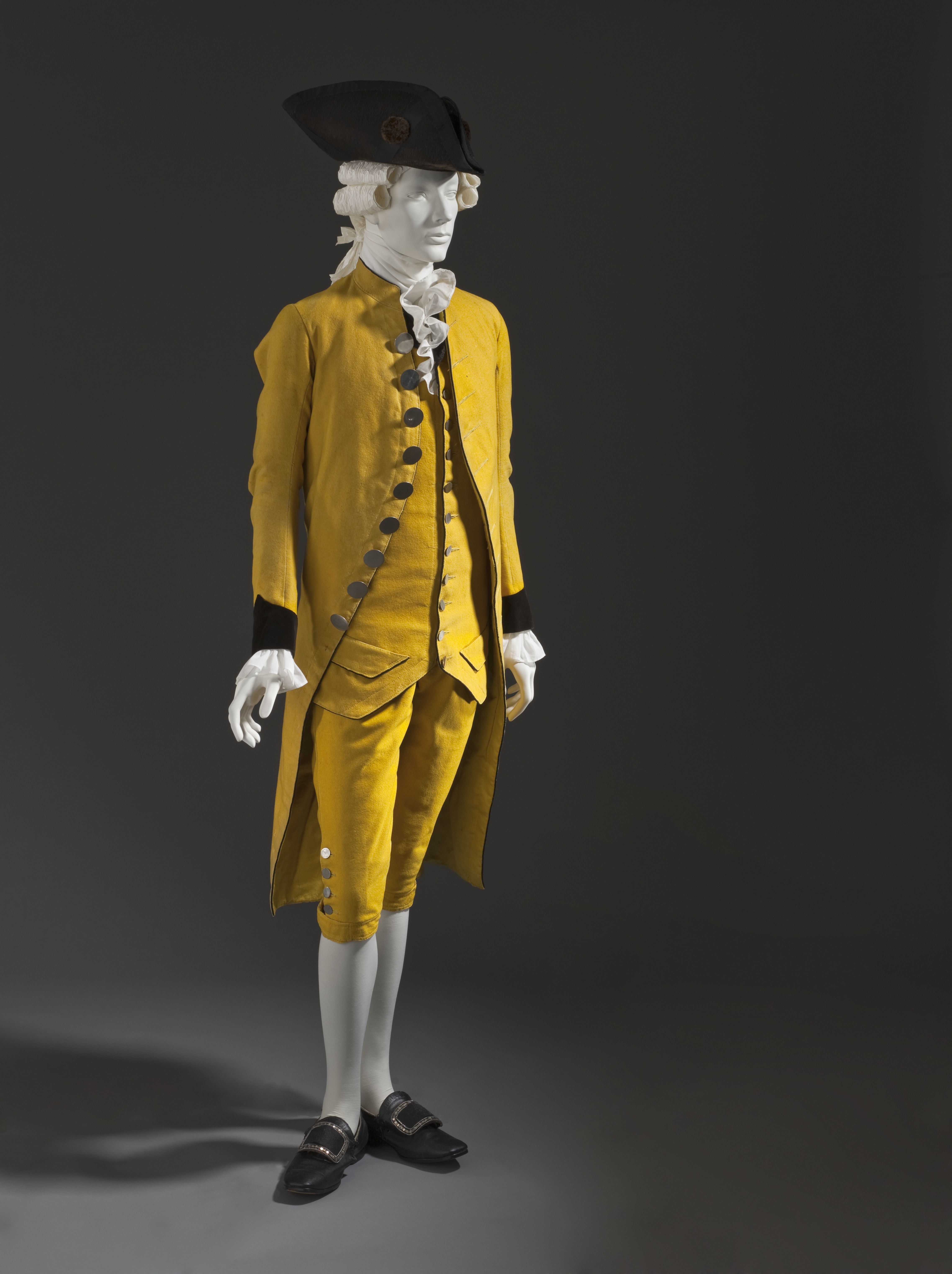 1800's mens suits | Suit, ca 1785 Spain, LACMAThe hat is ca 1780 Europe or  the US and is .
