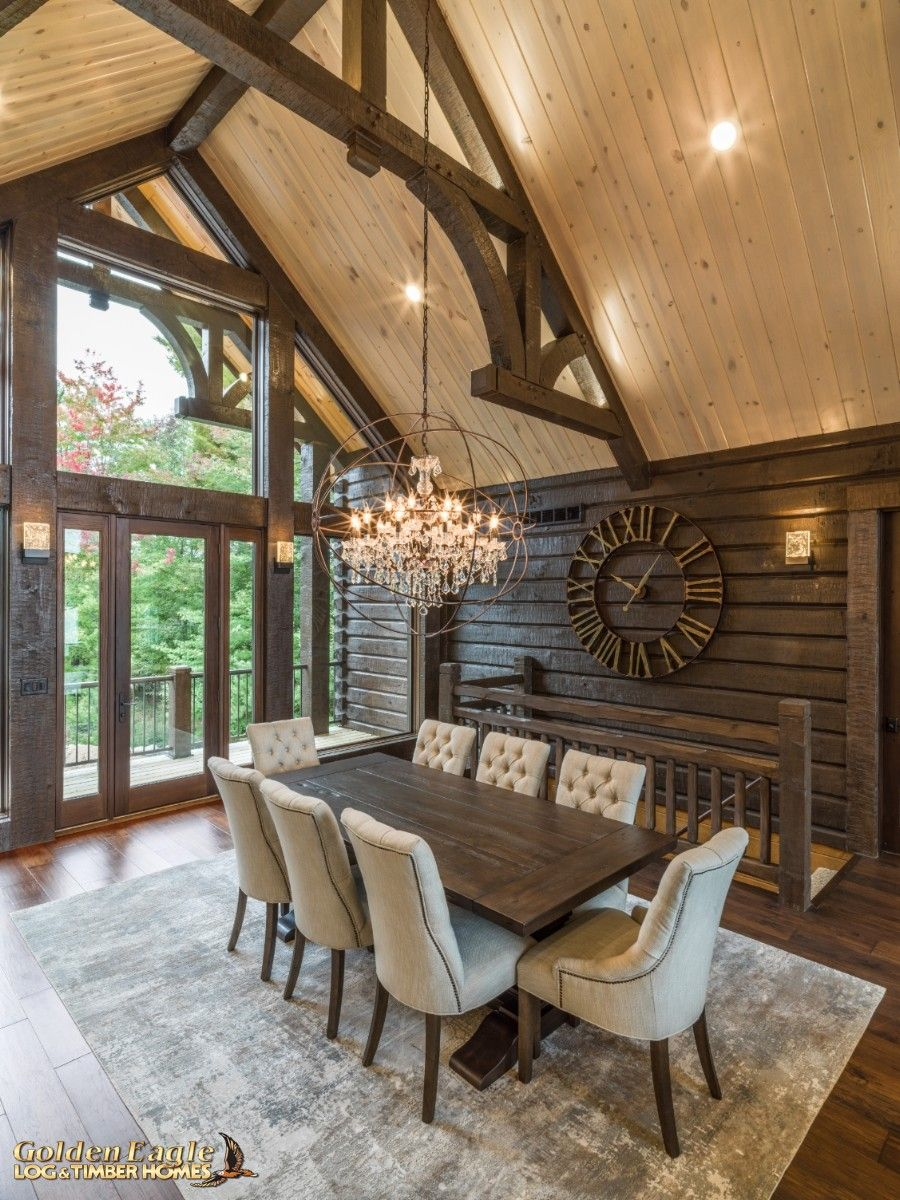 Golden Eagle Log and Timber Homes : Photo Gallery