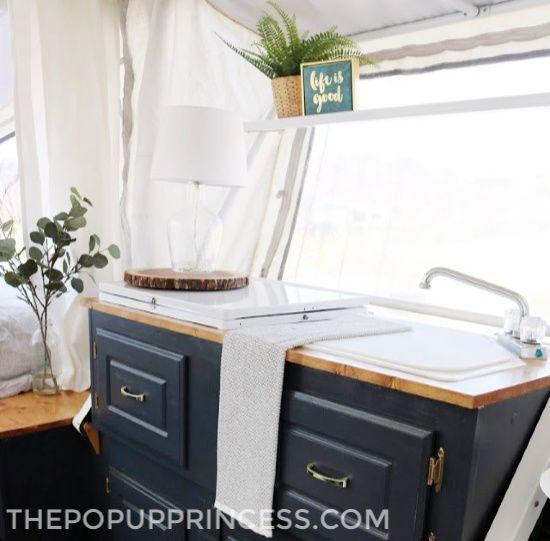 Katie Graham's Pop Up Camper Remodel - The Pop Up Princess