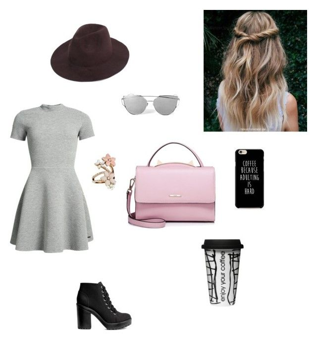 """""""Coffee break"""" by haley-oolun on Polyvore featuring mode, Superdry, H&M, WithChic, Accessorize et Dot & Bo"""