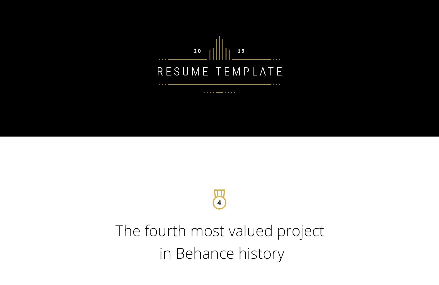 pages resume templates%0A FREE Resume Template on Behance