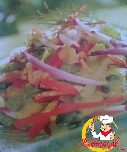 Resep Salad Organik Menu Diet Sehari Hari Club Masak Resep Salad Diet Masakan Indonesia