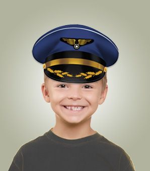 This Fun Printable Pilot Hat Is Quick Easy To Make Fits All Sizes Of Head