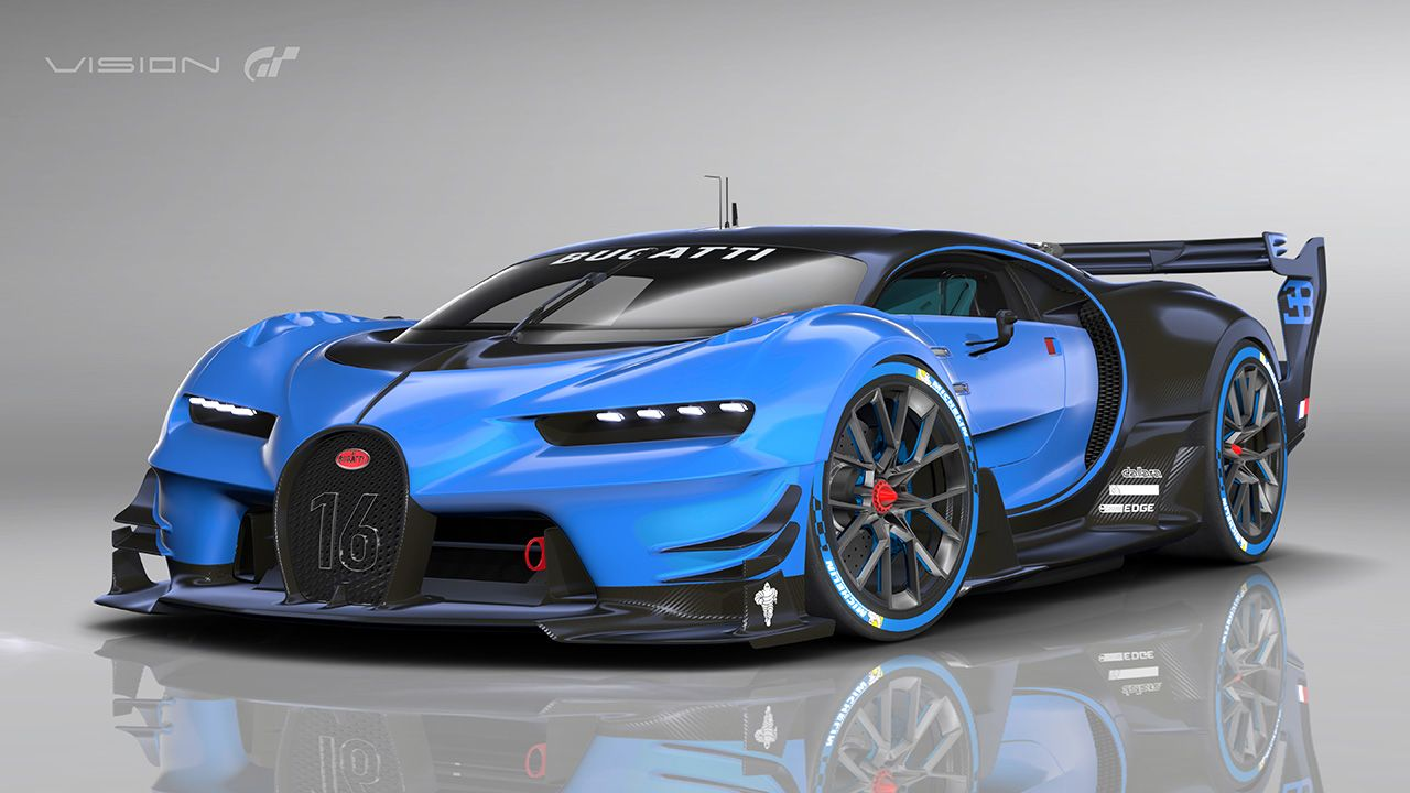 Superbe Bugatti Vision Gran Turismo Show Car Revealed At Frankfurt Motor Show    NEWS   Gran
