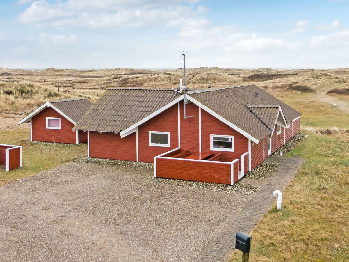 Das Ferienhaus (75qm Wohnfläche + 10qm Abstellhaus) für