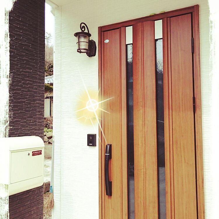 玄関 入り口 Ykk Ap 玄関ドアのインテリア実例 2016 03 23 13 24 57 Roomclip ルームクリップ 玄関ドア 玄関 Ykk 玄関ドア