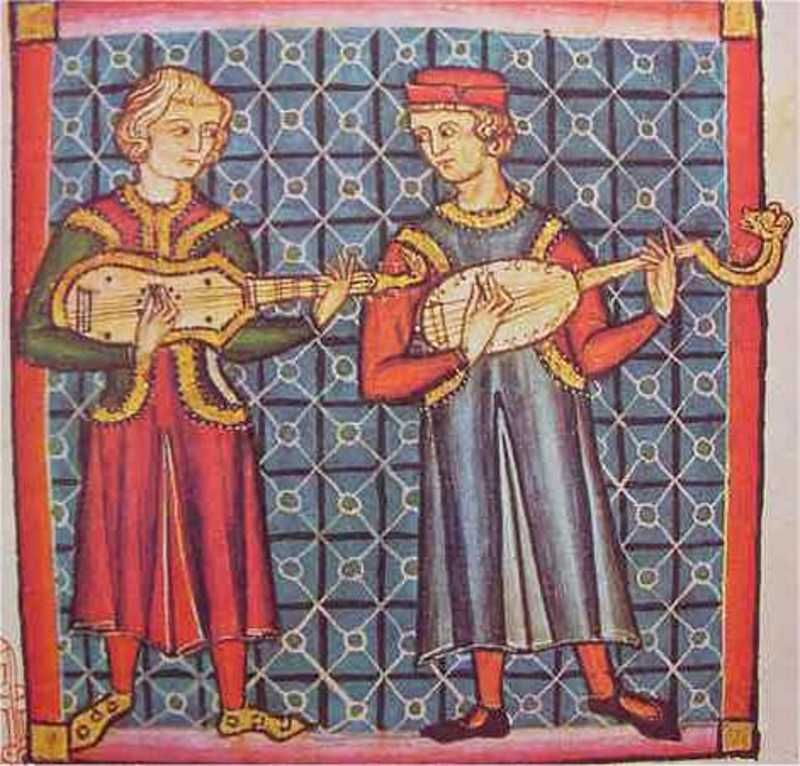 Image result for medieval manuscript bard singing
